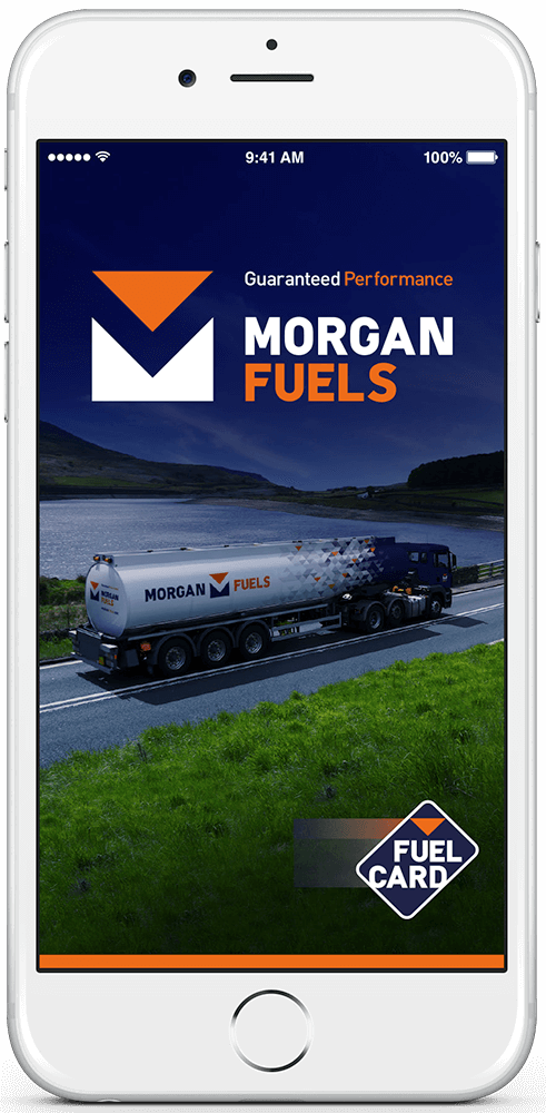 Morgan Fuel Card App - iPhone / Android